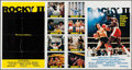 "Movie Posters:Sports, Rocky II (United Artists, 1979). Bus Stop (41"" X 77""). Sports.. ..."