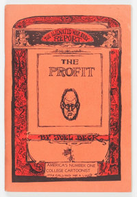 The Profit #1 Red Border Cover Edition (Go Broke Press, 1966) Condition: FN/VF