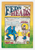 Silver Age (1956-1969):Alternative/Underground, Feds 'N Heads #1 First Printing (Gilbert Shelton, 1968) Condition:VG....