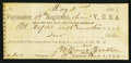 Obsoletes By State:Ohio, 89th Reg. Ohio V., USA, OH- W. Copes, Sutler $2.00 May 2, 1863. ...
