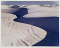 Photographs:Dye-transfer, Eliot Furness Porter (American, 1901-1990). White Sands National Monument, New Mexico, 1977. Dye transfer, 1988. 14 x 17...