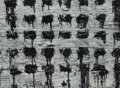 Photographs, Aaron Siskind (American, 1903-1991). Chicago 42, 1952. Gelatin silver. 16 x 21-3/4 inches (40.6 x 55.2 cm). Signed, titl...