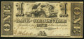 Obsoletes By State:Ohio, Circleville, OH- Bank of Circleville $1 circa 1840. ...