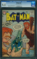 Silver Age (1956-1969):Superhero, Batman #115 (DC, 1958) CGC VG+ 4.5 Cream to off-white pages.