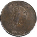 Large Cents, 1793 1C Chain, AMERICA, S-2, B-2, High R.4, MS63 Brown PCGS Secure.CAC....