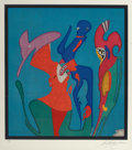 Fine Art - Work on Paper:Print, Mihail Chemiakin (Russian, b. 1943). Untitled (three works),n.d.. Lithographs in colors on paper. 23-3/4 x 21-3/4 inche...(Total: 3 Items)