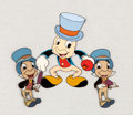 Animation Art:Production Cel, Jiminy Cricket Production Cels Group of 3 (Walt Disney, c.1950s).... (Total: 3 )