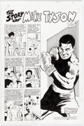 Dick Ayers Sports Superstars #5 Partial Story Original Art Group of 15 (Revoluti Comic Art