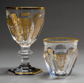 Decorative Arts, French:Other , A Thirteen-Piece Baccarat Empire Pattern Wine Service.Marks: BACCARAT FRANCE. 6-1/2 inches high x 3-3/4 inc...(Total: 13 Items)