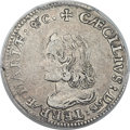 Colonials, (1659) 6PENCE Maryland Lord Baltimore Sixpence XF45 PCGS. Small Bust, Hodder 2-C, W-1060, R.5. ...