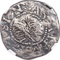 1652 6PENCE Willow Tree Sixpence -- Plugged -- NGC Details. VF. Noe 1-A, W-130, Salmon 1-A, High R.6