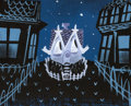 Animation Art:Concept Art, The Little House Concept Painting by Mary Blair (Walt Disney, 1952). ...
