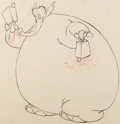 Animation Art:Color Model, Dumbo Pink Elephant Color Model Drawings Group of 7 (WaltDisney, 1941). ... (Total: 7 Items)