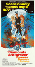 "Movie Posters:James Bond, Diamonds are Forever (United Artists, 1971). International ThreeSheet (41"" X 77""). Robert McGinnis Artwork.. ..."