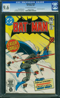 Modern Age (1980-Present):Superhero, Batman #333 (DC, 1981) CGC NM+ 9.6 Off-white to white pages.