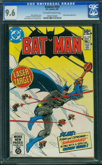 Batman #333 (DC, 1981) CGC NM+ 9.6 Off-white to white pages