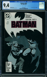 Batman #407 (DC, 1987) CGC NM 9.4 White pages