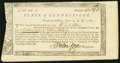 Colonial Notes:Connecticut, Connecticut Treasury Certificate £18.18s.0d June 1, 1782 AndersonCT-19 Choice About New.. ...