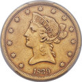 Liberty Eagles, 1839 $10 Type of 1840, Small Letters VF35 PCGS....