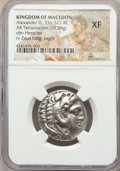 Ancients:Greek, Ancients: MACEDONIAN KINGDOM. Alexander III the Great (336-323 BC).AR tetradrachm (16.98 gm). NGC XF....