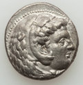 Ancients:Greek, Ancients: MACEDONIAN KINGDOM. Alexander III the Great (336-323 BC).AR tetradrachm (16.74 gm). XF....