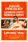 "Movie Posters:Elvis Presley, Loving You (Paramount, 1957). One Sheet (27"" X 41"").. ..."