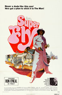 "Super Fly (Warner Brothers, 1972). One Sheet (27"" X 41"")"
