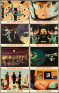 "Movie Posters:Science Fiction, 2001: A Space Odyssey (MGM, 1968). Lobby Card Set of 8 (11"" X14"").. ... (Total: 8 Item)"