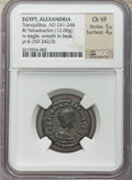 Ancients:Roman Provincial , Ancients: EGYPT. Alexandria. Tranquillina, wife of Gordian III(Augusta, AD 241-244). BI tetradrachm (12.08 gm). NGC ChoiceVF 5/5 - 4/5...