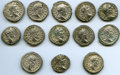 Ancients:Ancient Lots  , Ancients: GROUP LOTS. Roman Imperial. Lot of thirteen (13)Septimius Severus (AD 193-211) AR denarii. VF-XF. ... (Total:13 coins)