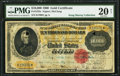 Large Size:Gold Certificates, Fr. 1225e $10,000 1900 Gold Certificate PMG Very Fine 20 Net.. ...