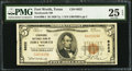 National Bank Notes:Texas, Fort Worth, TX - $5 1929 Ty. 1 Stockyards NB Ch. # 6822. ...