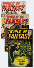 Silver Age (1956-1969):Horror, World of Fantasy #3, 9, and 16 Group (Atlas, 1956-59).... (Total: 3Comic Books)