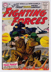 Our Fighting Forces #14 (DC, 1956) Condition: VF-