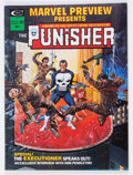 Magazines:Superhero, Marvel Preview #2 The Punisher (Marvel, 1975) Condition: VF....
