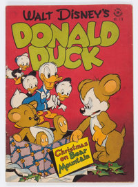 Four Color #178 Donald Duck (Dell, 1947) Condition: GD
