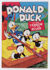 Four Color #108 Donald Duck (Dell, 1946) Condition: Apparent VF