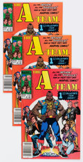 Modern Age (1980-Present):Miscellaneous, The A-Team #1 Group of 60 (Marvel, 1984) Condition: Average VF+.... (Total: 60 Comic Books)