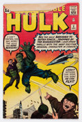 Silver Age (1956-1969):Superhero, The Incredible Hulk #3 (Marvel, 1962) Condition: GD-....