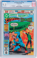 Modern Age (1980-Present):Superhero, DC Comics Presents #26 Superman and Green Lantern (DC, 1980) CGCNM- 9.2 White pages....