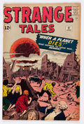 Silver Age (1956-1969):Horror, Strange Tales #97 (Marvel, 1962) Condition: VG/FN....