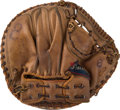 Baseball Collectibles:Others, 1959-60 Yogi Berra Game Used Catcher's Mitt....