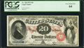 Large Size:Legal Tender Notes, Fr. 128 $20 1875 Legal Tender PCGS Very Choice New 64.. ...