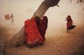 Photographs:Chromogenic, Steve McCurry (American, b. 1950). Dust Storm, Rajasthan,India, 1983. Dye coupler. 39 x 59 inches (99.1 x 149.9 cm).Si...