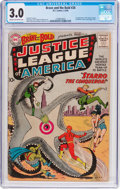 Silver Age (1956-1969):Superhero, The Brave and the Bold #28 Justice League of America (DC, 1960) CGC GD/VG 3.0 Cream to off-white pages....