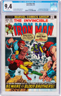 Bronze Age (1970-1979):Superhero, Iron Man #55 (Marvel, 1973) CGC NM 9.4 White pages....