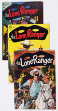 Golden Age (1938-1955):Western, Lone Ranger Group of 22 (Dell, 1951-58) Condition: Average FN....(Total: 22 Comic Books)
