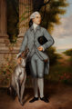After Sir Joshua Reynolds Portrait of Richard Peers Symons Oil on canvas 35-1/2 x 23-1/2 inches (90.2 x 59.7 cm) (sig...