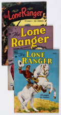 Golden Age (1938-1955):Western, Lone Ranger Group of 10 (Dell, 1950-56) Condition: AverageFN/VF.... (Total: 10 Comic Books)