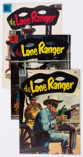 Golden Age (1938-1955):Western, Lone Ranger Group of 8 (Dell, 1948-57) Condition: Average VF+....(Total: 8 Comic Books)